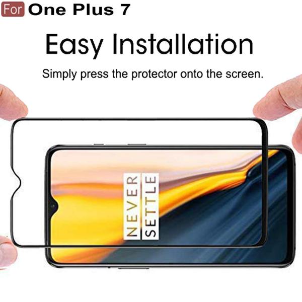 Folie sticla securizata Full Glue pentru OnePlus 7, Negru 2