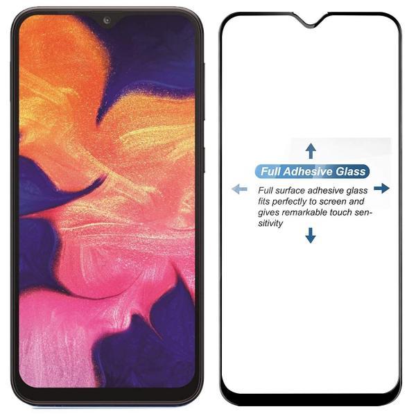 Folie sticla securizata Full Glue pentru Samsung Galaxy A10, Negru 1