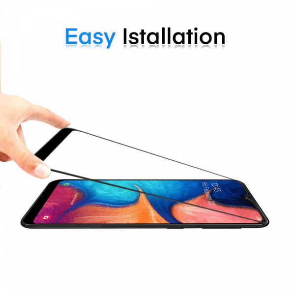 Folie sticla securizata Full Glue pentru Samsung Galaxy A20e, Negru [1]