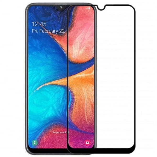 Folie sticla securizata Full Glue pentru Samsung Galaxy A20e, Negru [0]