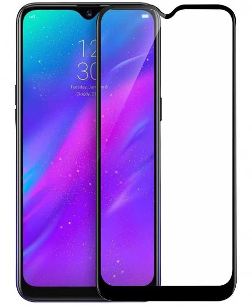 Folie sticla securizata Full Glue pentru Samsung Galaxy A50, Negru 0