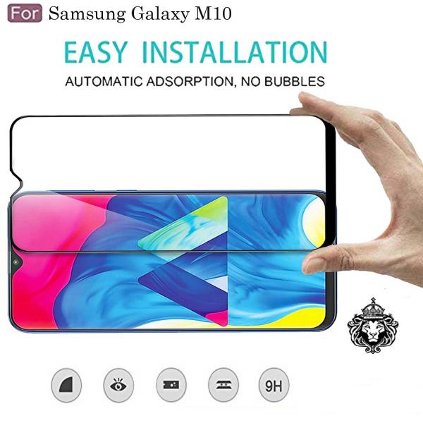 Folie sticla securizata Full Glue pentru Samsung Galaxy M10, Negru 2