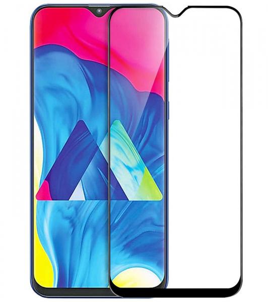 Folie sticla securizata Full Glue pentru Samsung Galaxy M10, Negru 0