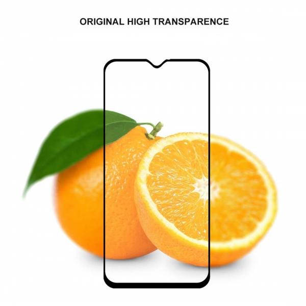 Folie sticla securizata Full Glue pentru Samsung Galaxy M20, Negru 2