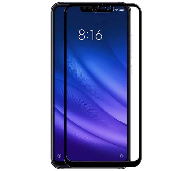 Folie sticla securizata Full Glue pentru Xiaomi Mi 8 Lite, Negru [0]