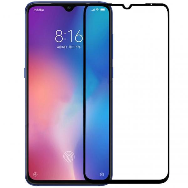 Folie sticla securizata Full Glue pentru Xiaomi Mi 9, Negru [0]