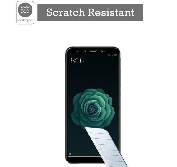 Folie sticla securizata Full Glue pentru Xiaomi Mi A2, Negru 2