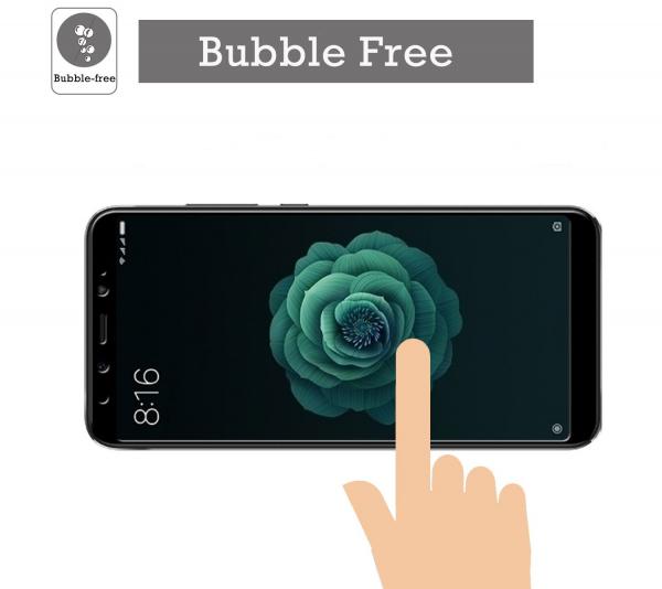Folie sticla securizata Full Glue pentru Xiaomi Mi A2, Negru 3