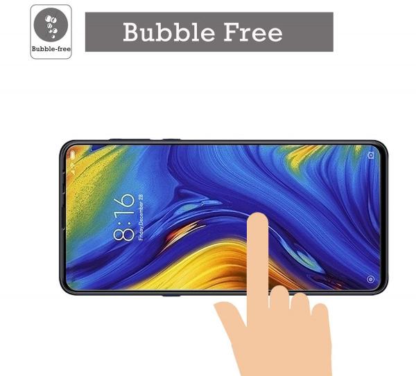 Folie sticla securizata Full Glue pentru Xiaomi Mi MIX 3, Negru 3