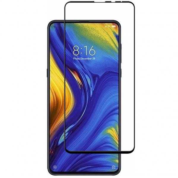 Folie sticla securizata Full Glue pentru Xiaomi Mi MIX 3, Negru 0