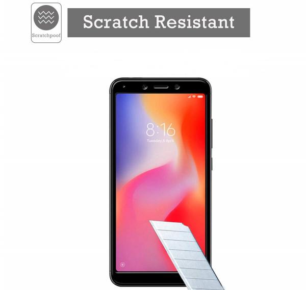 Folie sticla securizata Full Glue pentru Xiaomi Redmi 6, Negru [2]