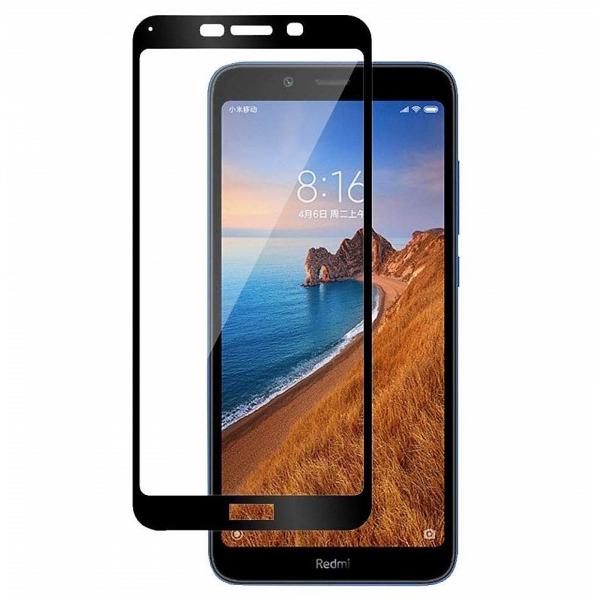 Folie sticla securizata Full Glue pentru Xiaomi Redmi 7A, Negru 0