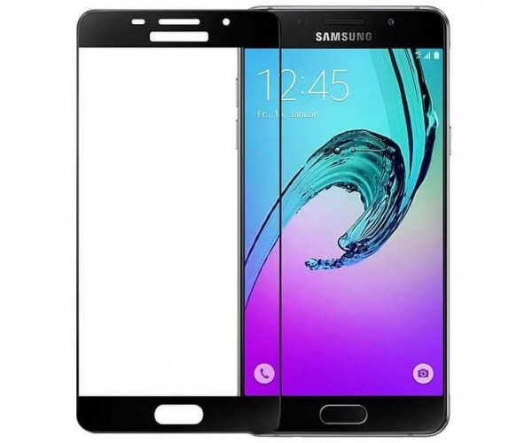 Folie sticla securizata Full Glue Samsung Galaxy A5 (2016), Black 0
