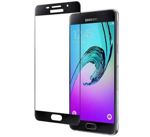 Folie sticla securizata Full Glue Samsung Galaxy A5 (2016), Black 1