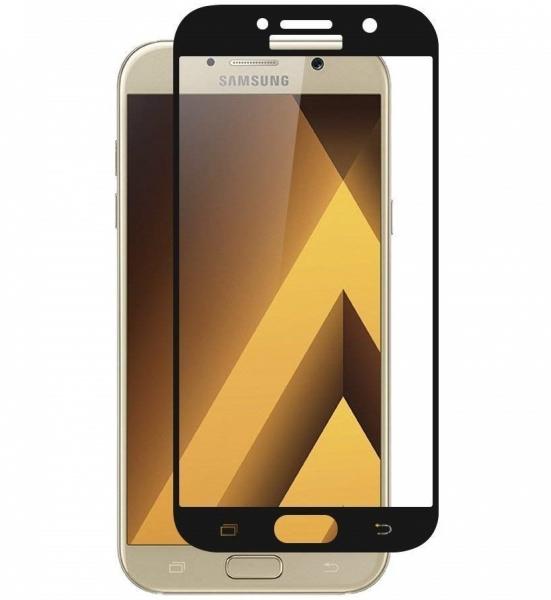 Folie sticla securizata Full Glue Samsung Galaxy A7 (2017), Black 0