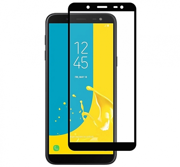 Folie sticla securizata Full Glue Samsung Galaxy J6 (2018), Black 0