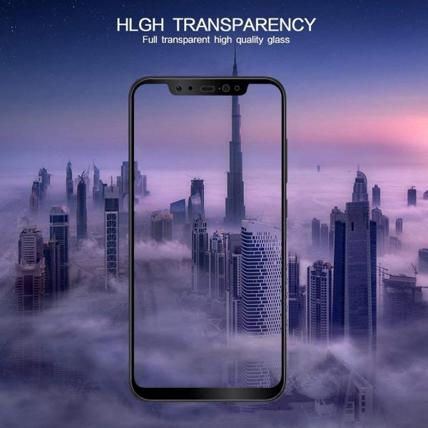 Folie sticla securizata Full Glue Xiaomi Mi 8, Negru [2]