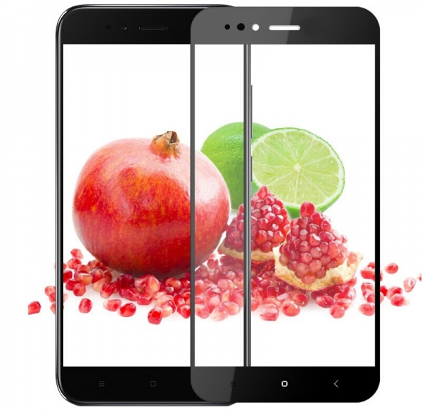 Folie sticla securizata Full Glue Xiaomi Mi A1, Black 2