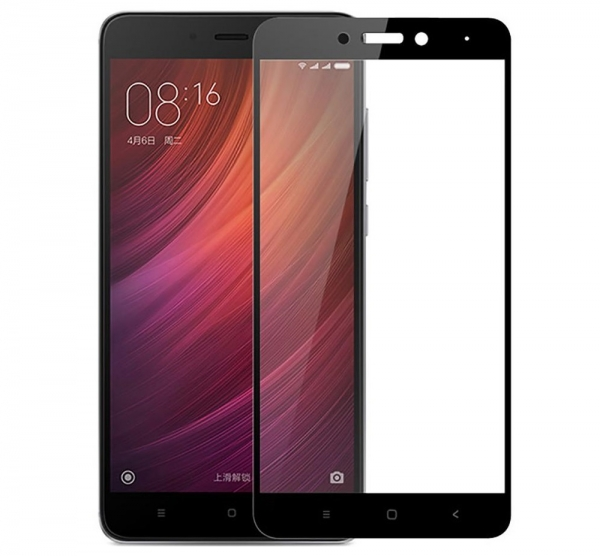 Folie sticla securizata Full Glue Xiaomi Redmi Note 4 (Mediatek), Black 0