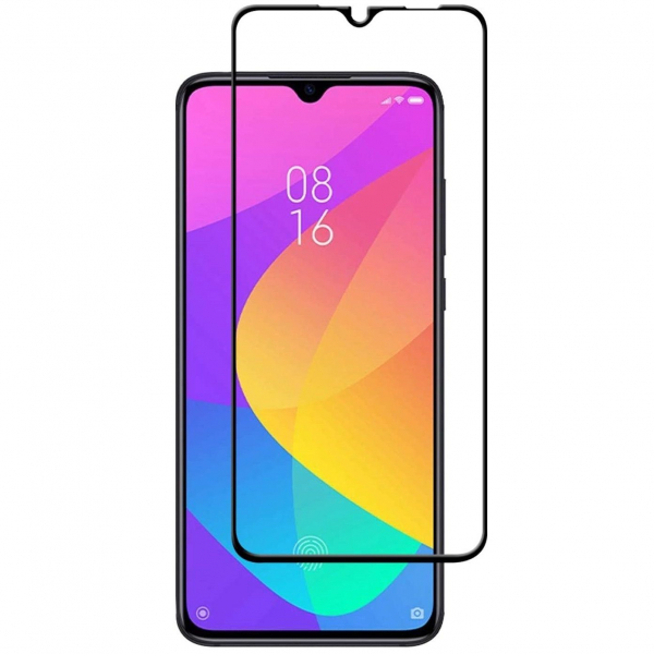 Folie sticla Xiaomi Mi 9 Lite Full Cover Full Glue, Negru 0