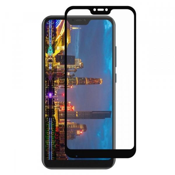 Folie sticla Xiaomi Mi A2 Lite Full Cover Full Glue, Negru 0