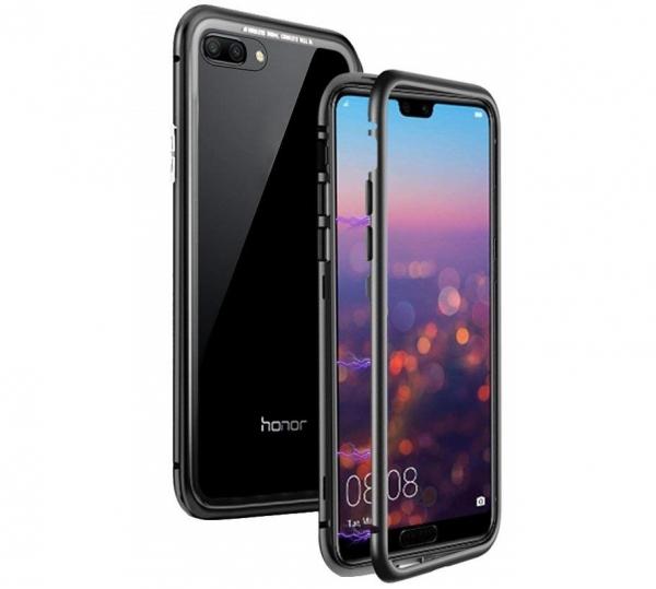 Husa 360 Magnetic Case pentru Huawei Honor 10, Negru [0]