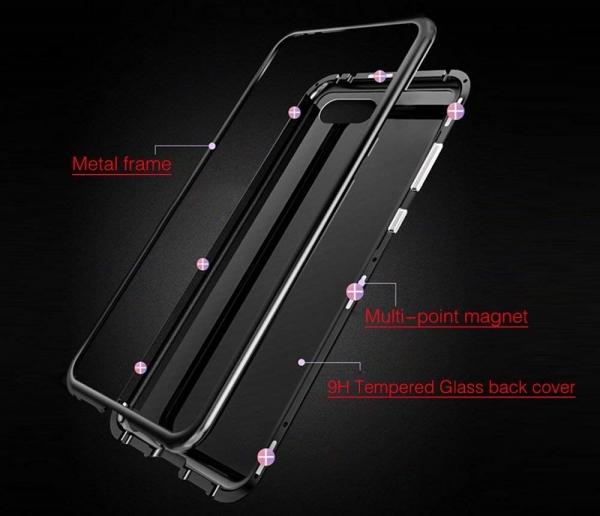 Husa 360 Magnetic Case pentru Huawei Honor 10, Negru 2