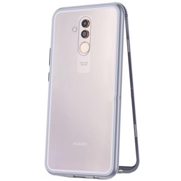 Husa 360 Magnetic Case pentru Huawei Mate 20 Lite, Silver 0