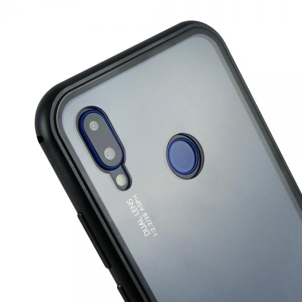 Husa 360 Magnetic Case pentru Huawei P20 Lite, Negru 3