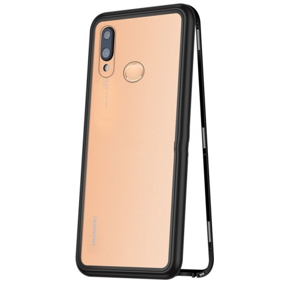 Husa 360 Magnetic Case pentru Huawei P20 Lite, Negru 0
