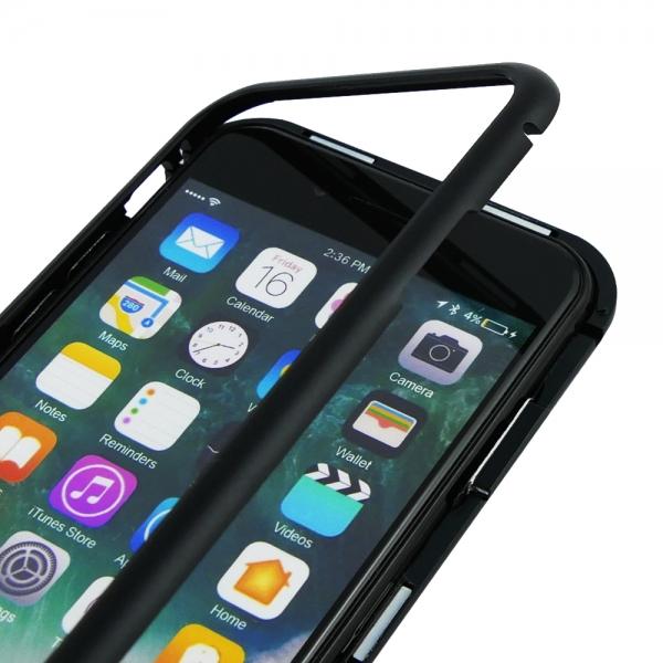 Husa 360 Magnetic Case pentru iPhone 8, Negru 3
