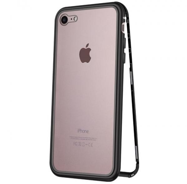 Husa 360 Magnetic Case pentru iPhone 8, Negru 0