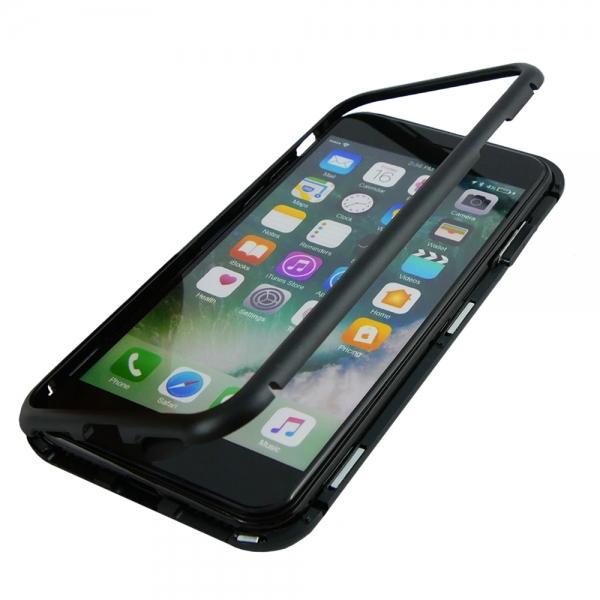 Husa 360 Magnetic Case pentru iPhone 8, Negru 2