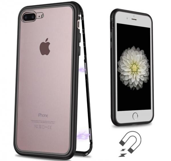 Husa 360 Magnetic Case pentru iPhone 8 Plus, Negru 1