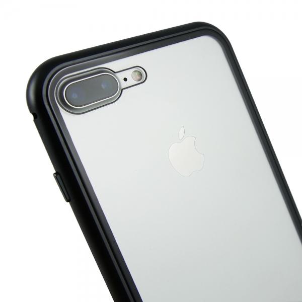 Husa 360 Magnetic Case pentru iPhone 8 Plus, Negru 3