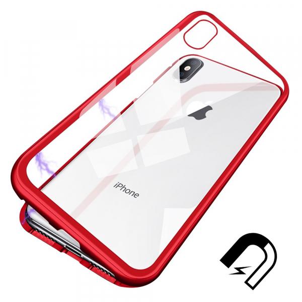 Husa 360 Magnetic Case pentru iPhone X, Red 2