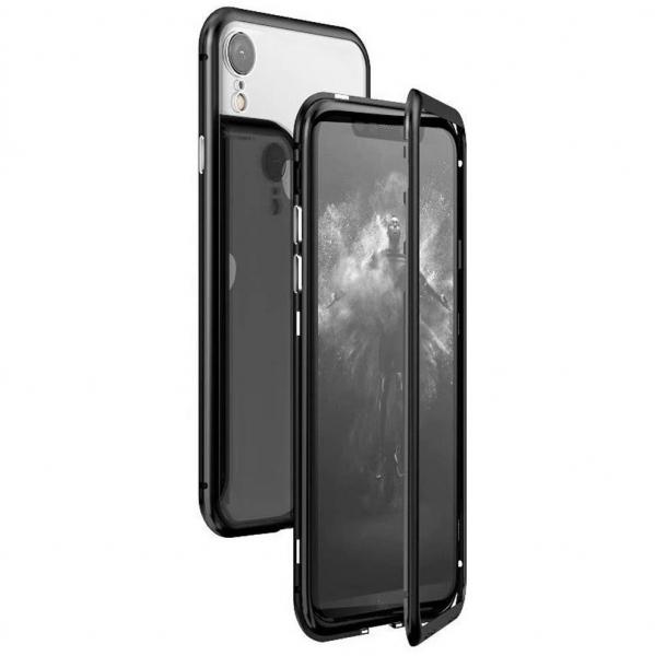 Husa 360 Magnetic Case pentru iPhone XR, Negru 0