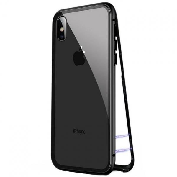 Husa 360 Magnetic Case pentru iPhone XS Max, Negru [0]