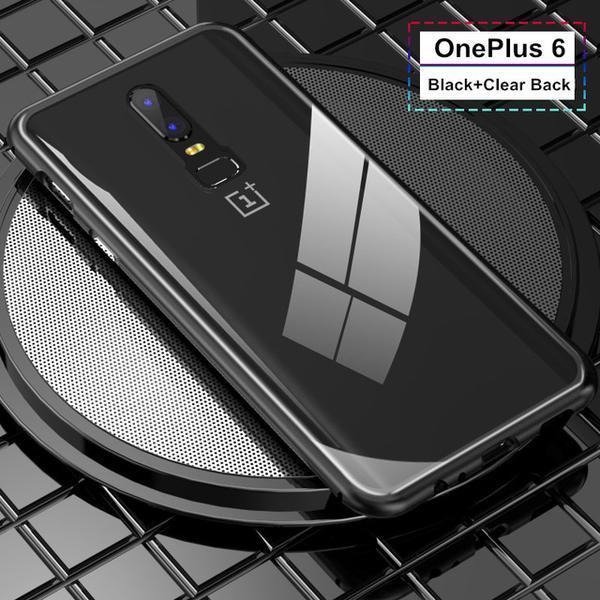 Husa 360 Magnetic Case pentru OnePlus 6, Negru 3