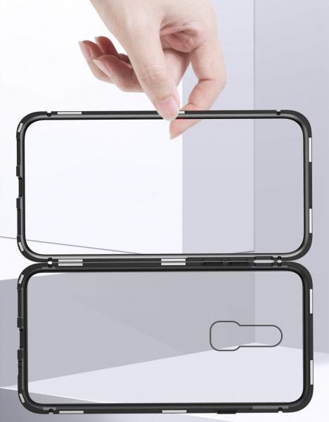 Husa 360 Magnetic Case pentru OnePlus 6, Negru 2
