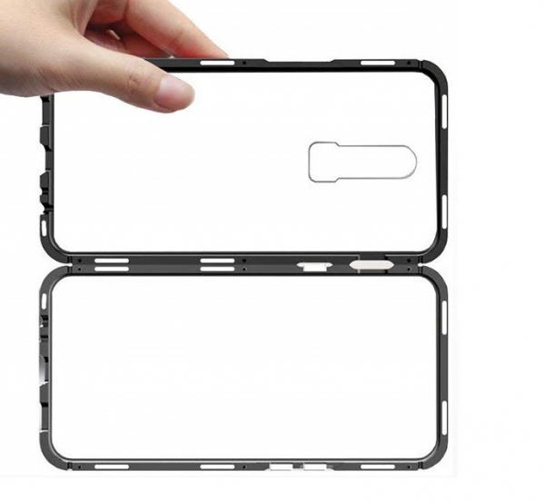 Husa 360 Magnetic Case pentru OnePlus 6T, Negru [2]