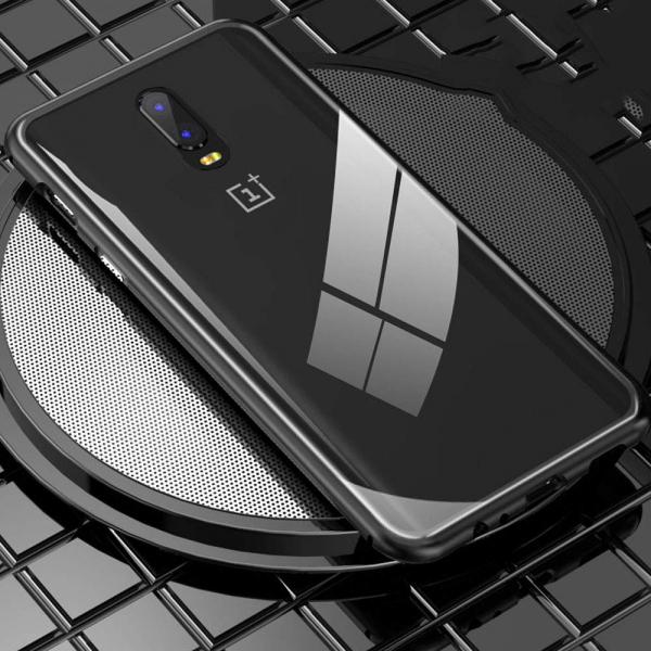 Husa 360 Magnetic Case pentru OnePlus 6T, Negru [4]