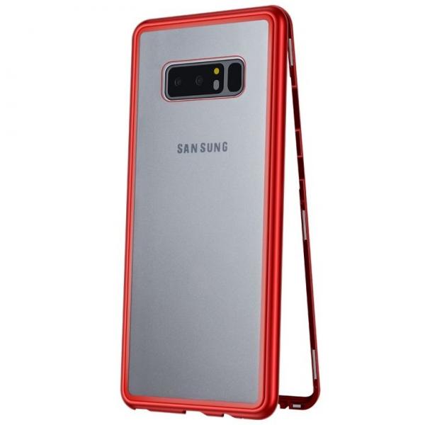 Husa 360 Magnetic Case pentru Samsung Galaxy Note 8, Red 0