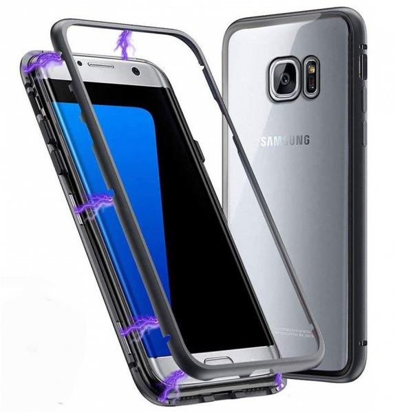 Husa 360 Magnetic Case pentru Samsung Galaxy S7 Edge, Negru 1