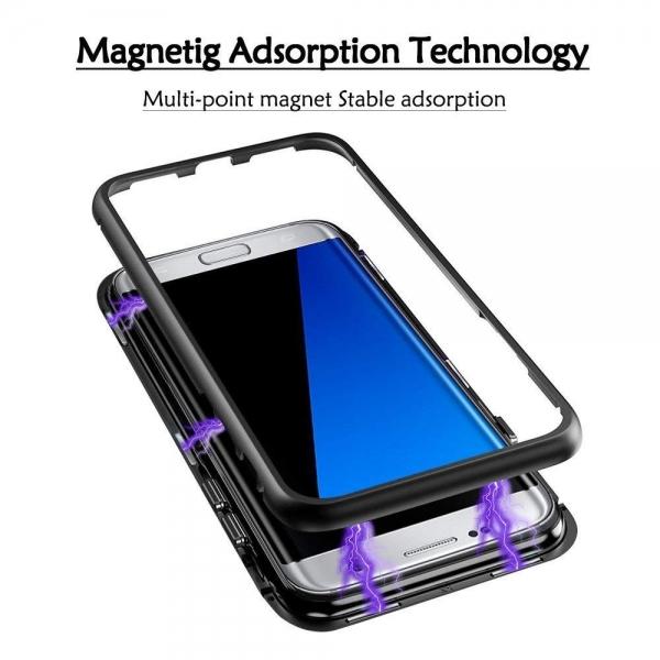 Husa 360 Magnetic Case pentru Samsung Galaxy S7 Edge, Negru 2