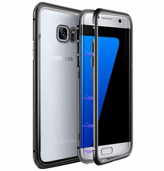 Husa 360 Magnetic Case pentru Samsung Galaxy S7 Edge, Negru 0