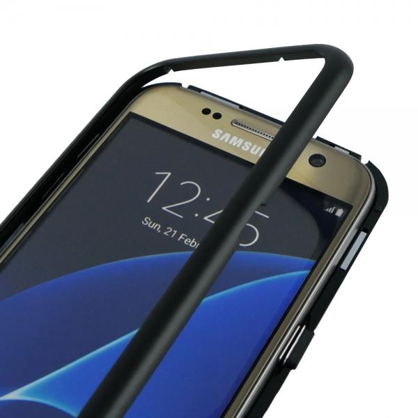 Husa 360 Magnetic Case pentru Samsung Galaxy S7, Negru [4]