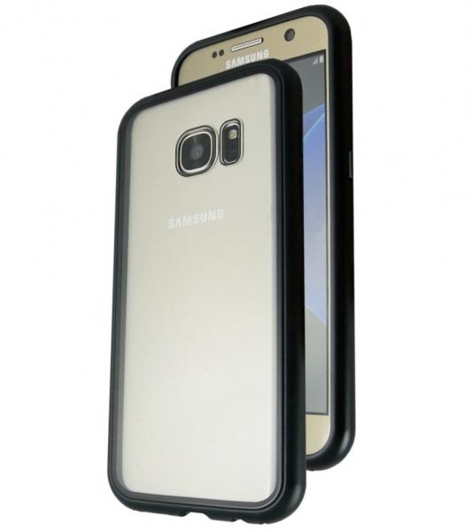 Husa 360 Magnetic Case pentru Samsung Galaxy S7, Negru [0]