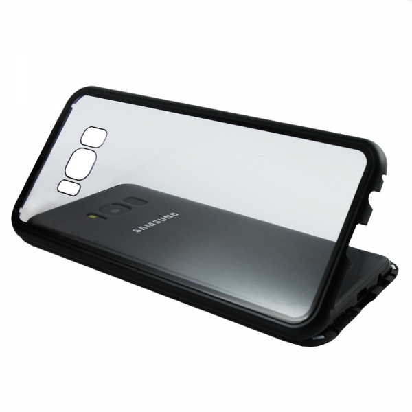 Husa 360 Magnetic Case pentru Samsung Galaxy S8, Negru 3