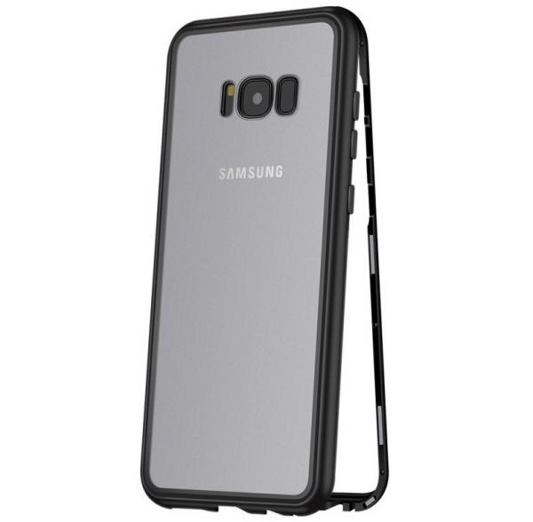 Husa 360 Magnetic Case pentru Samsung Galaxy S8 Plus, Negru 0